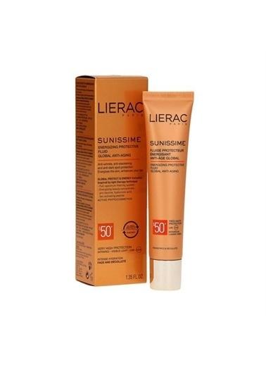 Lierac Sunissime Anti Age Global Energizing Protective Fluid SPF50+ Güneş Kremi 40ml Renksiz